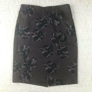 ANN TAYLOR Womens Pencil Skirt Size 0